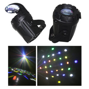 SPOT LED CU EFECTE 10W 2 IN 1