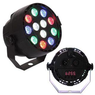 MINI LED PAR PORTABIL RGB+W 12X1W