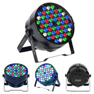 LED PAR SLIM  54 LED RGBW