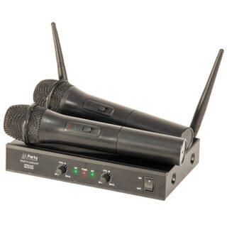 IET 2 MICROFOANE WIRELESS UHF 863.2 & 864.2 MHZ