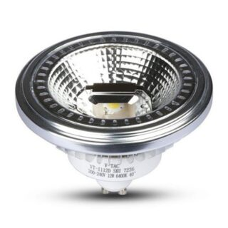 SPOT LED GU10 AR111 12W 3000K ALB CALD