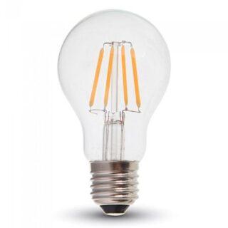 BEC LED A60 E27 4W CU FILAMENT DIMABIL 3000K ALB CALD