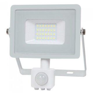 REFLECTOR LED SMD 20W 6400K IP65 CU SENZOR MISCARE - ALB