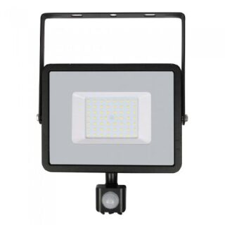 REFLECTOR LED SMD 50W 6400K IP65 CU SENZOR MISCARE, CIP SAMSUNG