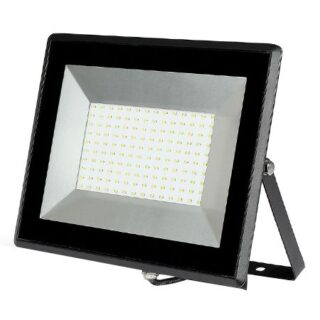 REFLECTOR LED SMD 100W 3000K IP65 NEGRU