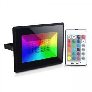 REFLECTOR LED RGB 50W CU TELECOMANDA