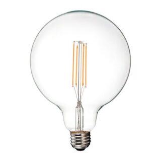 BEC LED G125 E27 12.5W CU FILAMENT 3000K ALB CALD