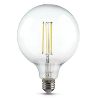 BEC LED G125 E27 12.5W CU FILAMENT 4000K ALB NEUTRU