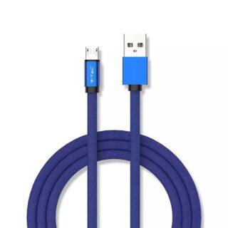 CABLU MICRO USB 1M RUBY EDITION - ALBASTRU