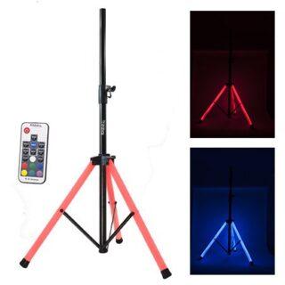 SUPORT BOXA ILUMINATA LED RGB + TELECOMANDA
