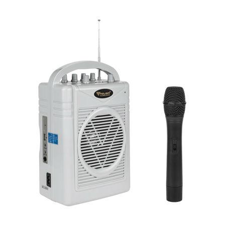 KIT WIRELESS PORTABIL (MICROFON + BOXA AMPLIF