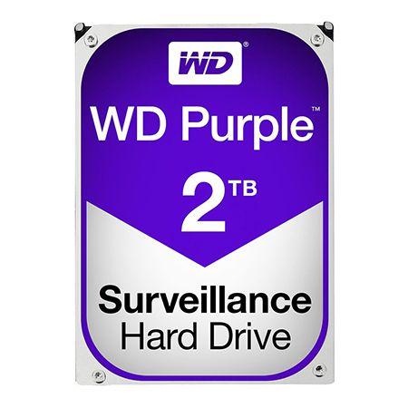 HDD 2TB SATA3 64MB PURPLE WESTERN DIGITAL