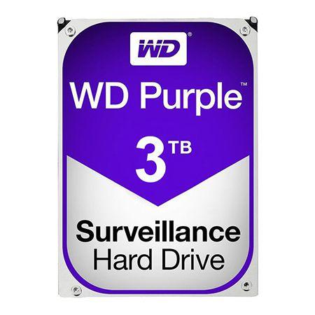 HDD 3TB SATA3 PURPLE WESTERN DIGITAL