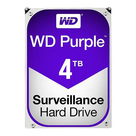 HDD 4TB SATA3 64MB PURPLE WESTERN DIGITAL
