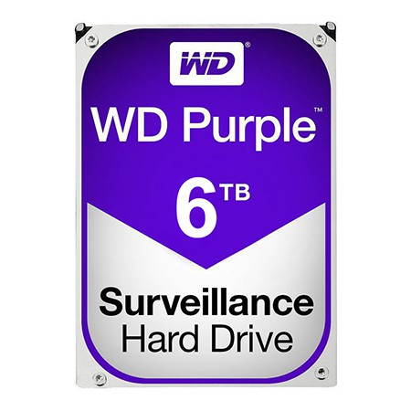 HDD 6TB SATA3 PURPLE WESTERN DIGITAL