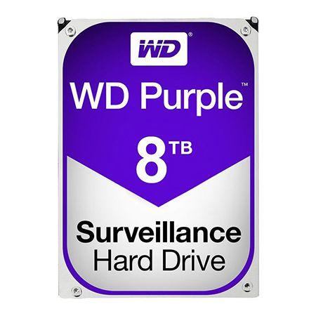 HDD 8TB SATA3 256MB PURPLE WESTERN DIGITAL