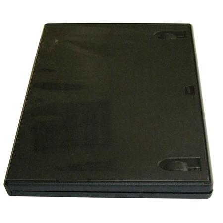 DVD BOX QUER 14MM SINGLE BLACK HQ 10BUC