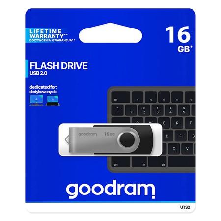 FLASH DRIVE 16GB USB 2.0 GOODRAM