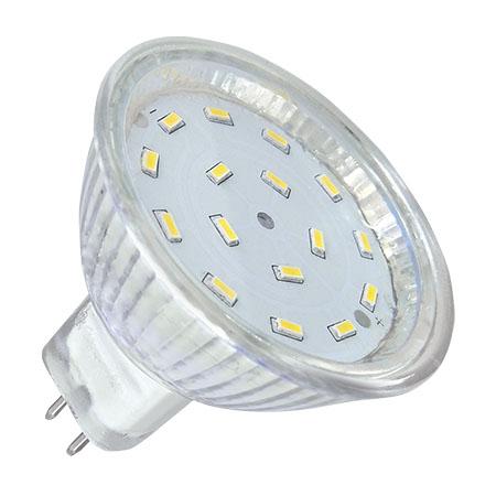 BEC LED 16 SMD 3014 MR16 12V 3000K 5W