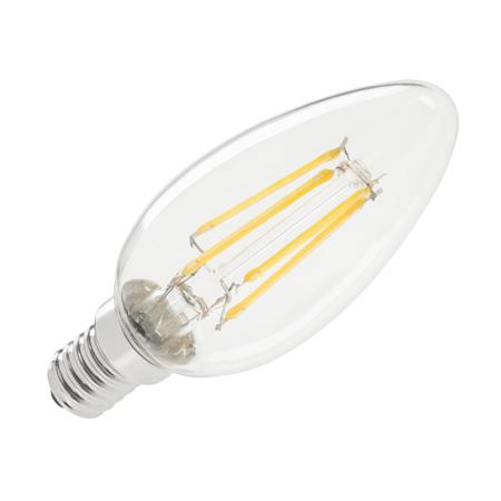 BEC LED (FILAMENT) LUMANARE 4W E14 3000K