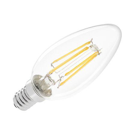 BEC LED 4W E14 FILAMENT 3000K 230V VIPOW