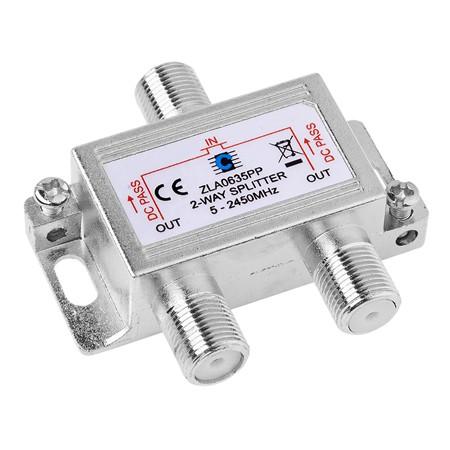 SPLITTER 2 CAI 5-2450MHZ POWER PASS