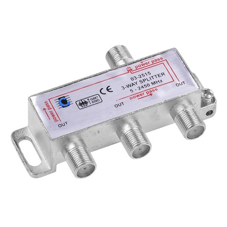SPLITTER 3 CAI POWER PASS 5-2450 MHZ