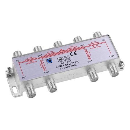 SPLITTER 8 CAI POWER PASS 5-2450 MHZ